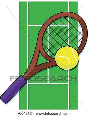 Dessins court tennis k0649124 recherche de clip arts for Prix d un court de tennis
