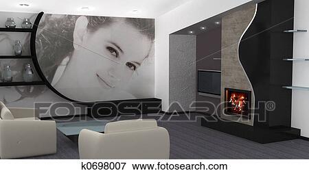 Immagine casa interno disegno k0698007 cerca archivi for Disegno casa interno