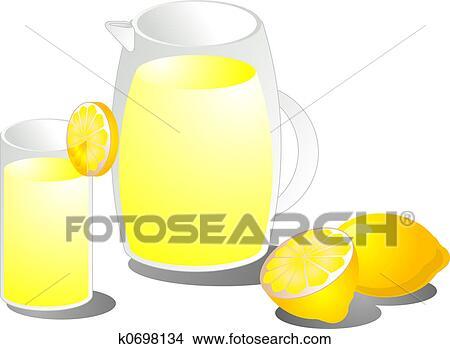 柠檬片手绘图_