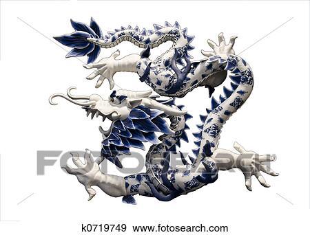 Banque de photographies dragon chinois k0719749 - Photo de dragon chinois ...