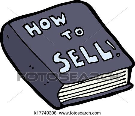 clip art of cartoon how to sell book k17749308 search clipart rh fotosearch com sale clip art free sale clip art