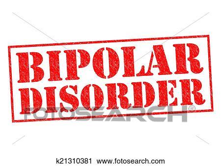 Bipolar Symptoms Clip Art