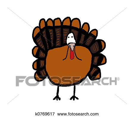 Decorate Turkey Drawing Drawings Decorative