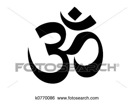 Stock illustration om aum symbol fotosearch search clip art