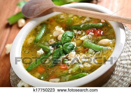 Стручковая фасоль суп рецепт фото