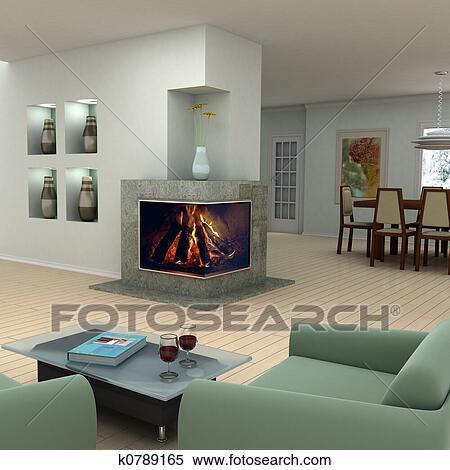 Archivio immagini casa interno disegno k0789165 cerca for Disegno casa interno
