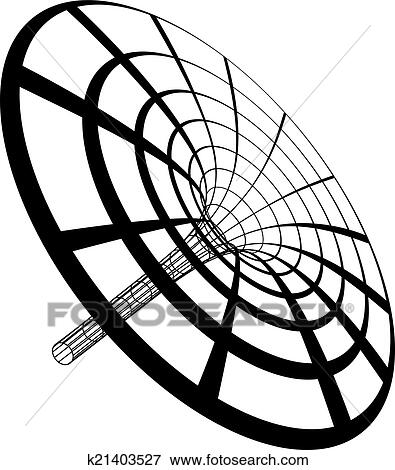 Clip Art of Black Hole Funnel k21403527 - Search Clipart ...