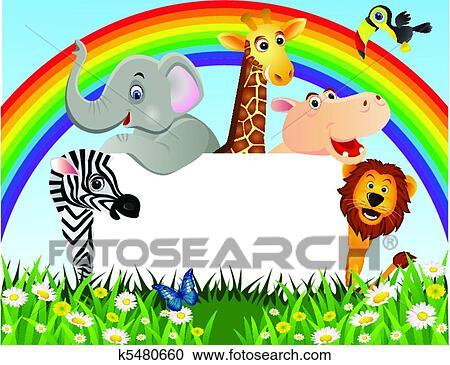 Galleria di illustrazioni animale cartone animato e - Animale cartone animato immagini gratis ...