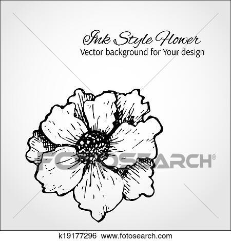clip art schwarz wei vektor hintergrund hand. Black Bedroom Furniture Sets. Home Design Ideas