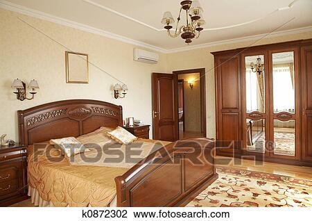 Banque de Photo - chambre à coucher, à, les, climatiseur. Fotosearch ...
