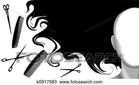 Hairdresser Illustrations and Stock Art. 2,413 hairdresser ...