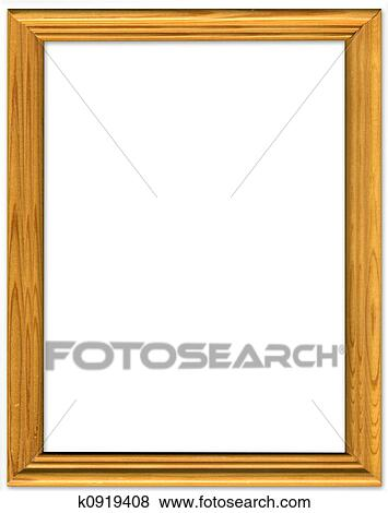 Pictures Of Simple Pine Picture Frame Border Design K0919408