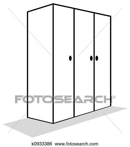 Stock Illustration Of Cupboard K0933386