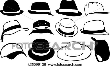 剪贴画 - 帽子