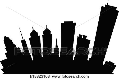 Clip Art Skyline Clipart buffalo skyline clipart illustrations 22 clip art cartoon city skyline