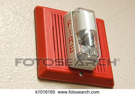 banque d 39 image alarme incendie k1016165 recherchez des photos des images des photographies. Black Bedroom Furniture Sets. Home Design Ideas