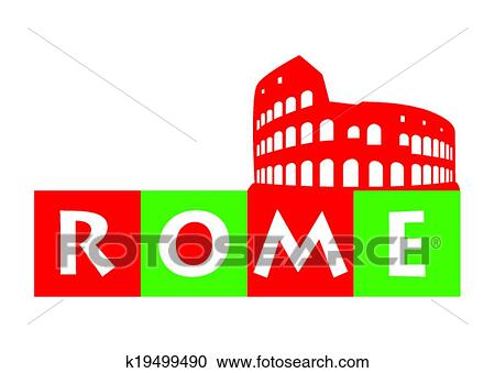 clipart of rome italy k19499490 search clip art illustration rh fotosearch com italy clip art free italy clip art free