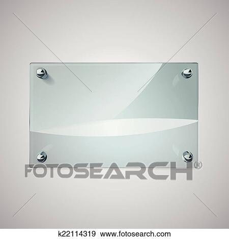 clip art leer glas rahmen mit metall nieten k22114319 suche clipart poster. Black Bedroom Furniture Sets. Home Design Ideas