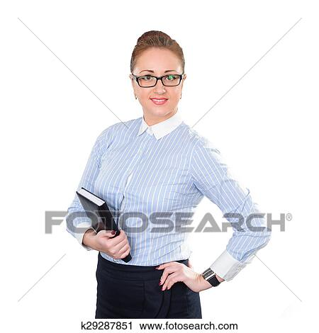 Young stylish business woman