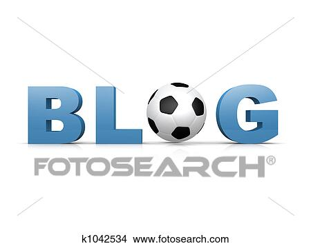 手绘图 - 足球, blog图片