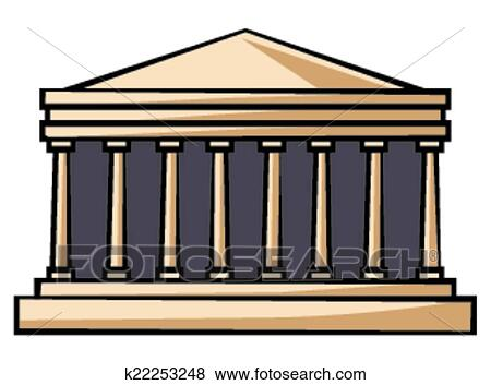 clip art of parthenon greece k22253248 search clipart rh fotosearch com parthenon clipart graphics parthenon clipart free to use