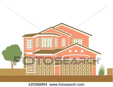 剪贴画 房子, 离子