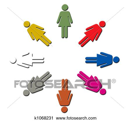 clipart of female diversity k1068231 search clip art illustration rh fotosearch com diversity clipart black and white diversity clip art free images