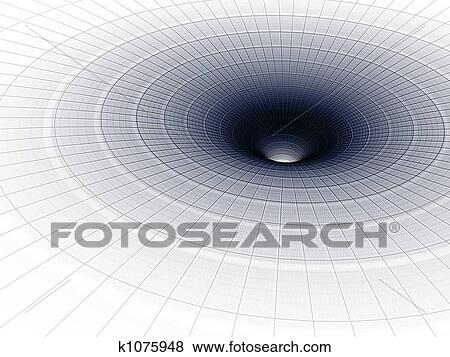 Stock Illustration of Black Hole k1075948 - Search EPS ...