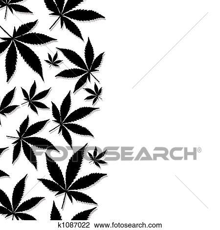 Clipart feuille cannabis k1087022 recherchez des cliparts des illustrations des dessins et - Dessin feuille cannabis ...