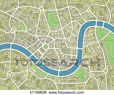 banque d 39 illustrations anonyme carte ville k1109639 recherche de cliparts vecteuris s de. Black Bedroom Furniture Sets. Home Design Ideas