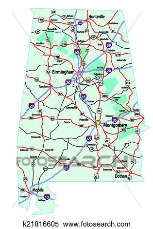 Interstate Road Map Of Us usa interstate 35 map us interstate