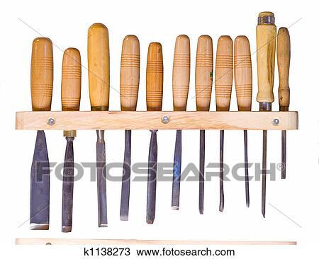 Stock Photo of woodworking tools k1138273 - Search Stock Images ...