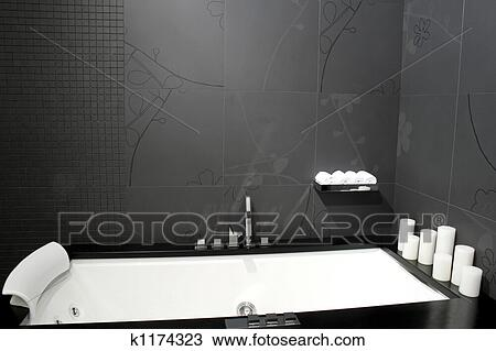 banque de photo noir baignoire 2 k1174323 recherchez des images des photographies et des. Black Bedroom Furniture Sets. Home Design Ideas