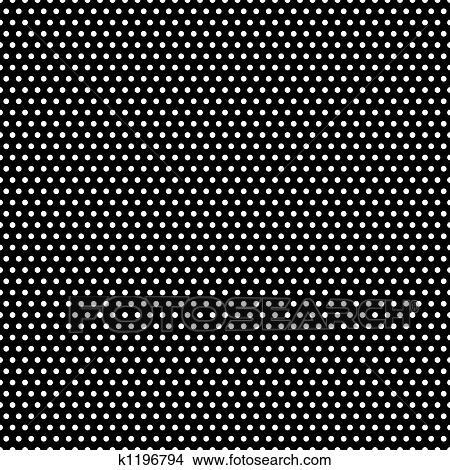 Dibujos - negro y blanco, lunares, patrón k1196794 - Buscar Clip ...