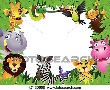 Archivio illustrazioni animale cartone animato k7430658 - Animale cartone animato immagini gratis ...