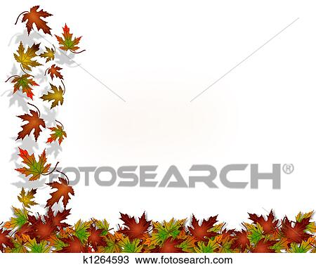 Autumn Leaves Drawings Drawing Thanksgiving Autumn
