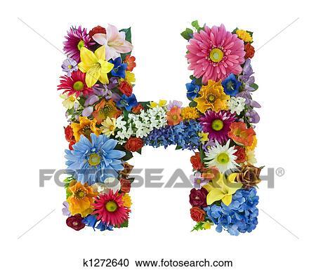 Фото буквы н в цветах