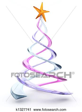 clipart glas spirale weihnachtsbaum k1327741 suche. Black Bedroom Furniture Sets. Home Design Ideas
