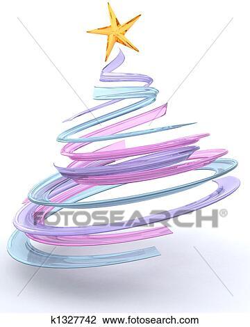 clip art glas spirale weihnachtsbaum k1327742 suche. Black Bedroom Furniture Sets. Home Design Ideas