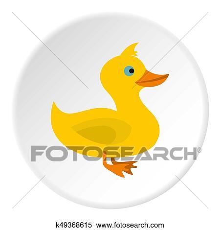图片银行 - 鸭子, 图标, 环绕图片