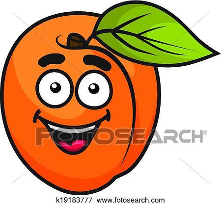 Clip art arancia colorita albicocca frutta k19183777 for Clipart frutta