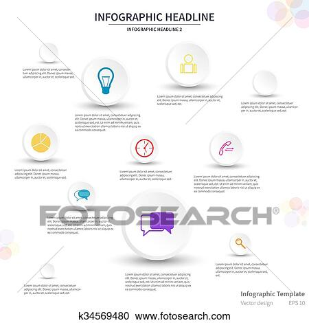 Infographic headlines