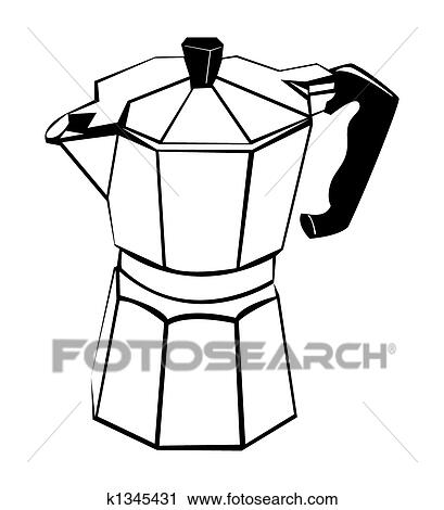 Coffee pot Clip Art and Stock Illustrations. 1,288 coffee pot EPS ...
