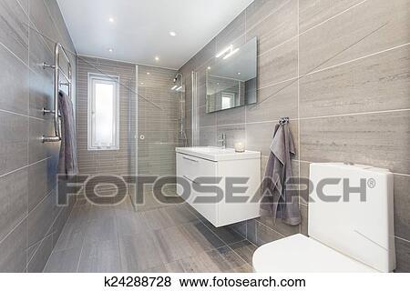 bilder modernes badezimmer k24288728 suche stockfotos bilder print fotos und foto clipart. Black Bedroom Furniture Sets. Home Design Ideas