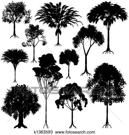 手绘图 - 树, 概述