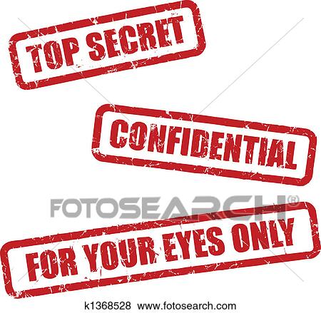 stock illustration of top secret stamps k1368528 search eps clip rh fotosearch com top secret clip art free top secret mission clip art