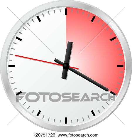 Clip art of timer with 20 twenty minutes k20751726 search clip art timer with 20 twenty minutes fotosearch search clipart publicscrutiny Image collections