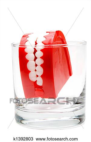 Stock Photo of Chattering Teeth k1392803 - Search Stock ...