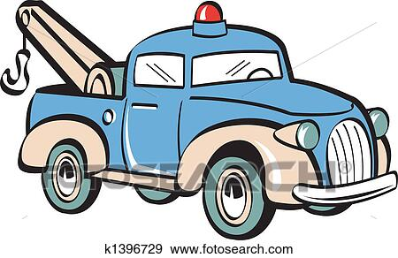 clip art of tow truck towing truck clip art k1396729 search rh fotosearch com tow truck clipart images rollback tow truck clipart
