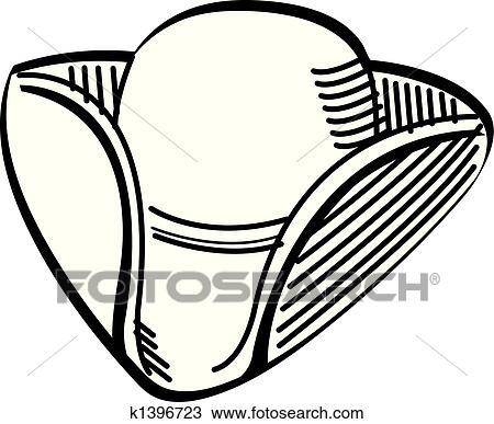 clipart of tricorn colonial hat clip art k1396723 search clip rh fotosearch com graphic clip art easter graphic clip art easter